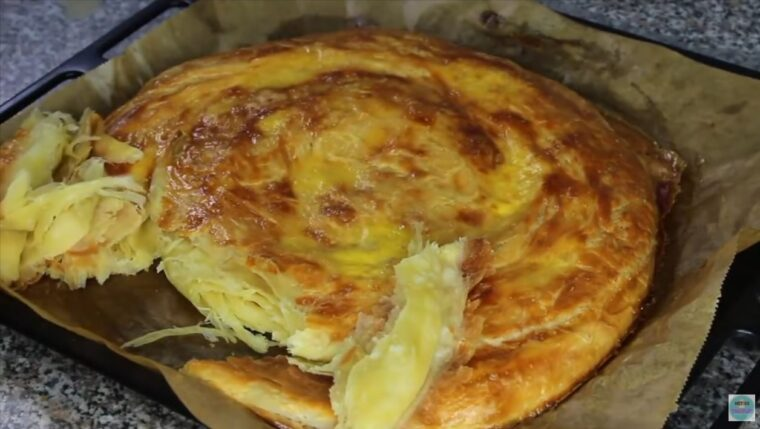 İp İp Ayrılan Kahvaltılık Çörek Tarifi 3