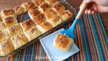 Yok Böyle Lezzet Dedirten Yoğurt Böreği Tarifi 2