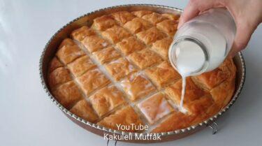 Fırında Mayalanan 60 Kat Böreği Tarifi 3