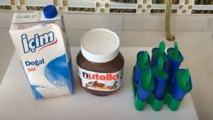 Nutellalı Dondurma Tarifi 1