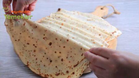 Bu İncecik Krep Ekmek Yapma Yöntemini Herkes Denemeli 2