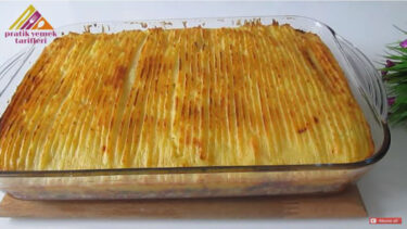 İlk Kez Göreceğiniz Patates Kebabı Tarifi 1