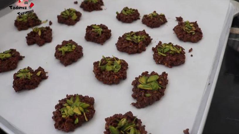 Bulgurdan Muhteşem Çikolatalı Atıştırmalık Tarifi 3