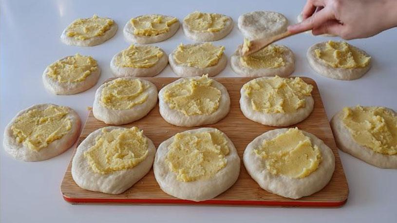 Ustasından Pastane Usulü Patatesli Açma Tarifi 1