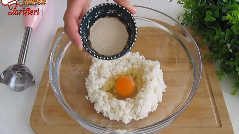 Pirinç İle Yapılan Balon Olan Yağ Çekmeyen Pişi Tarifi 1