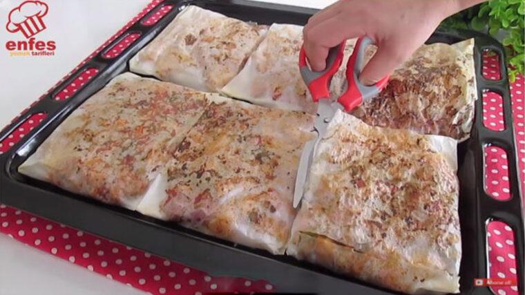 Evde Lokum Kağıt Kebabı Tarifi 1