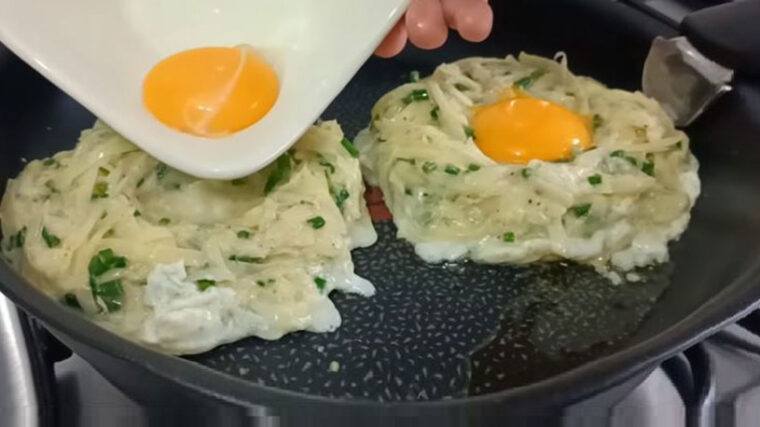 Şok Lezzetli Patatesli Kahvaltılık Tarifi 1