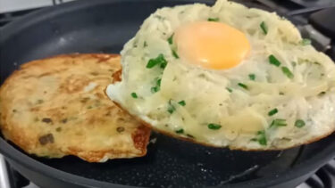 Şok Lezzetli Patatesli Kahvaltılık Tarifi 2
